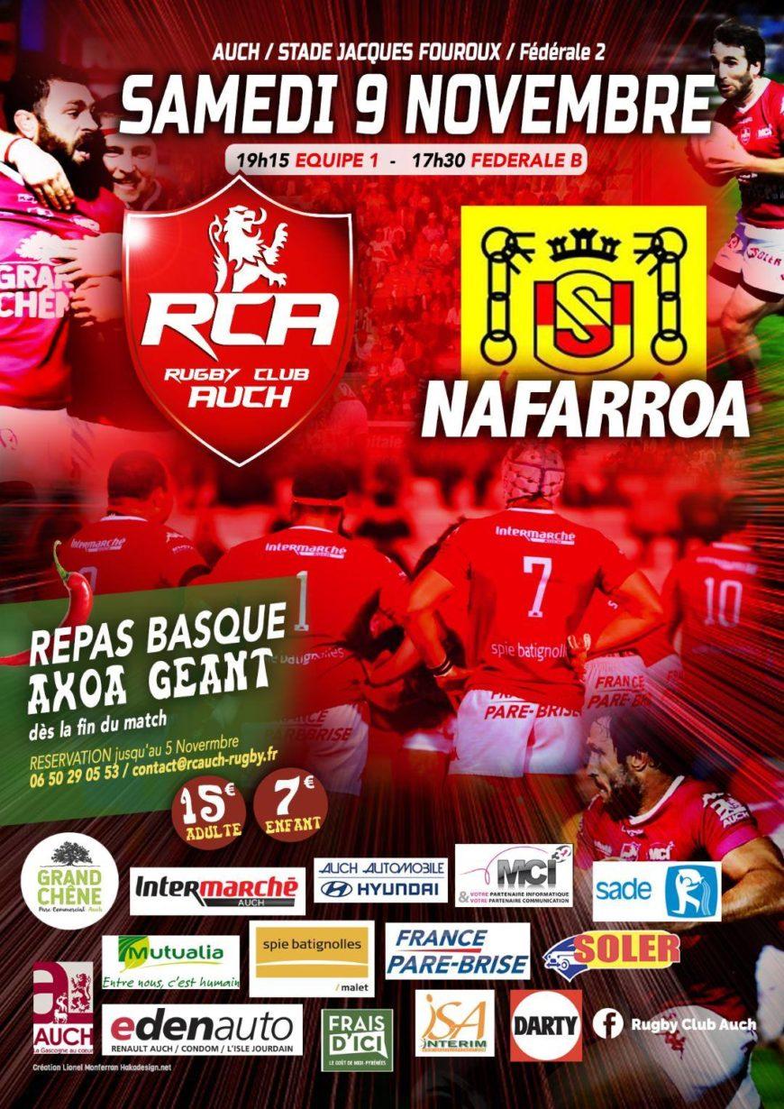Rugby Club Auch VS US Nafarroa école de rugby
