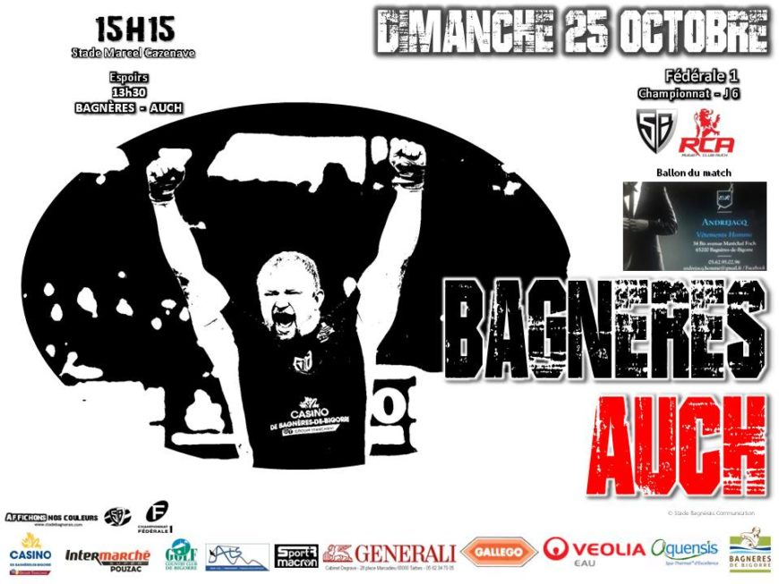 RCA VS Stade Bagnérais