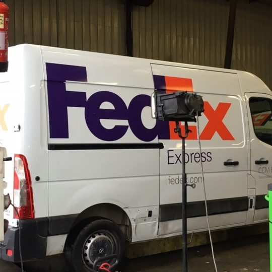 Fedex fait confiance au Garage Soler