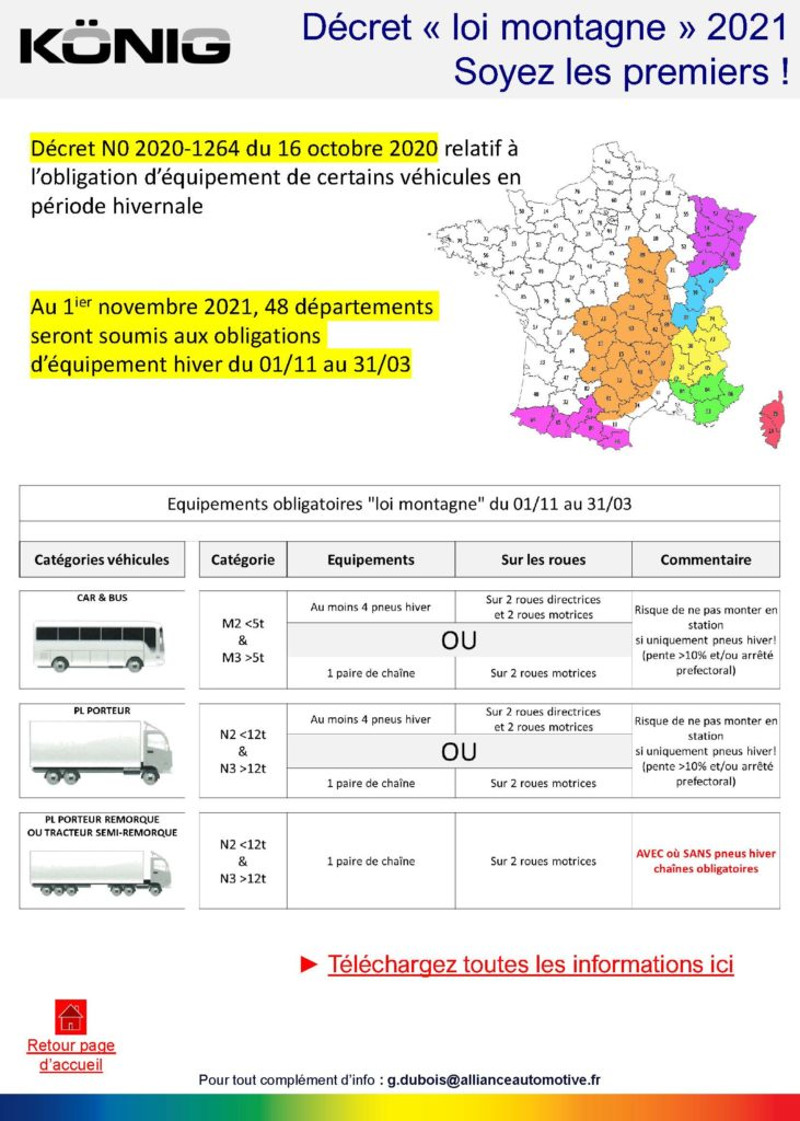 Truck info service